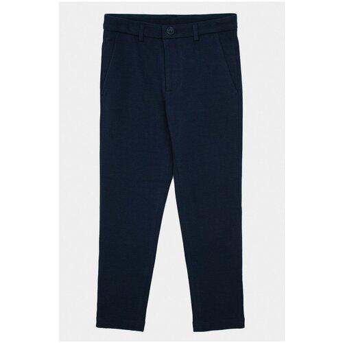 Брюки Gulliver размер 158, синий колготки gulliver 21900gc8413 размер 158 164 синий