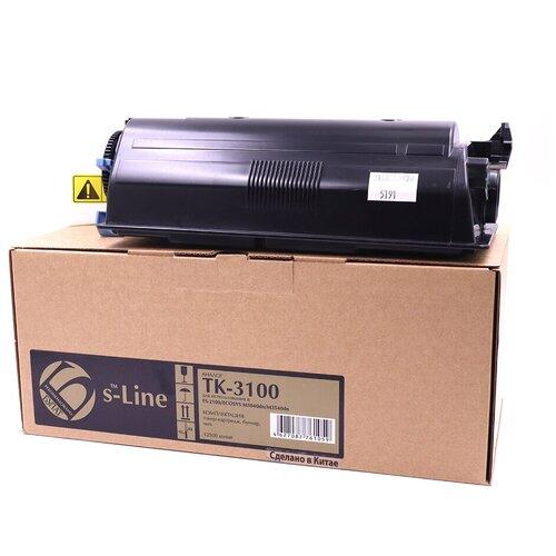 Фото - Тонер-картридж булат s-Line TK-3100 для Kyocera FS-2100 (Чёрный, 12500 стр.) тонер картридж булат s line tk 475 для kyocera fs 6025mfp чёрный 15000 стр