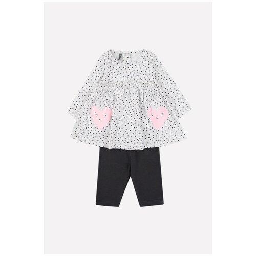 Фото - Комплект одежды crockid размер 92, светло-серый меланж/темно-серый комбинезон crockid размер 104 темно серый меланж