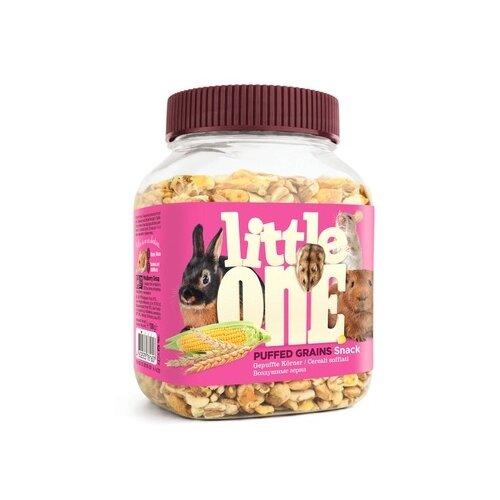 Фото - Little one воздушные зерна - лакомство для всех видов грызунов, 0,100 кг (18 шт) little one snack puffed grains лакомство для грызунов воздушные зерна 100 гр