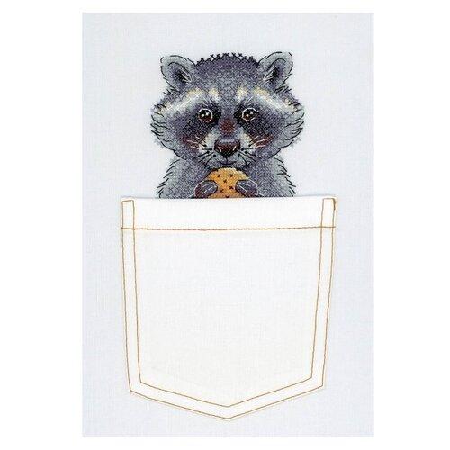 Купить Жар-птица Набор для вышивания на одежде Маленькое счастье 9 x 9 см (В-246), Наборы для вышивания
