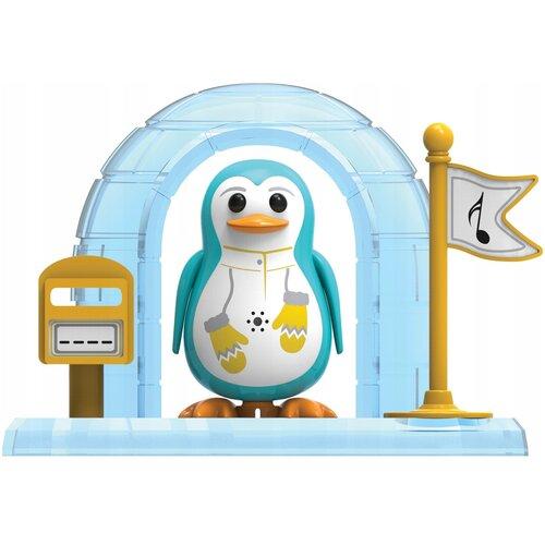 Фото - Робот Silverlit DigiPenguins с домиком голубой интерактивная игрушка робот silverlit macrobot оранжевый