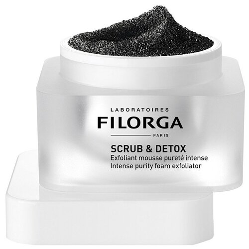 Filorga скраб-мусс для лица Scrub & Detox 50 мл скраб для лица erborian black scrub 50 мл