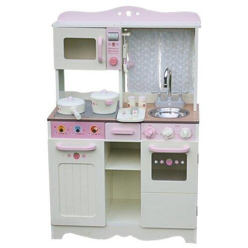 Кухня Lanaland Барбара W10C058А белый/розовый