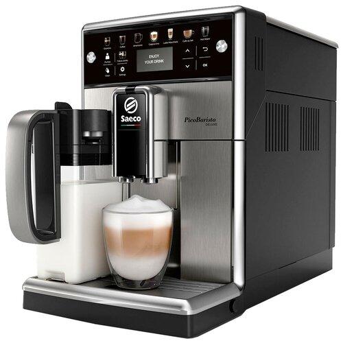 Кофемашина Saeco PicoBaristo Deluxe SM5570, черный/серебристый