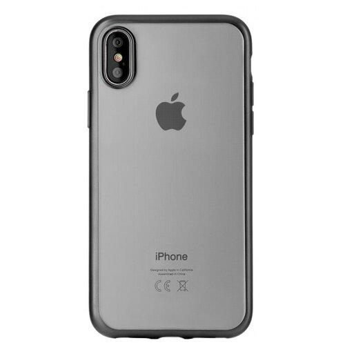 Фото - Чехол-накладка uBear Frame Tone Case для Apple iPhone X/Xs black чехол накладка ubear soft tone для apple iphone 6 iphone 6s прозрачный