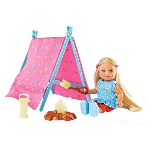 Кукла Simba Еви-кемпинг, 12 см, 5732360 недорого