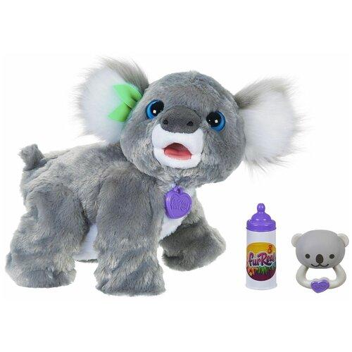 Интерактивная мягкая игрушка FurReal Friends коала Кристи E9618 серый