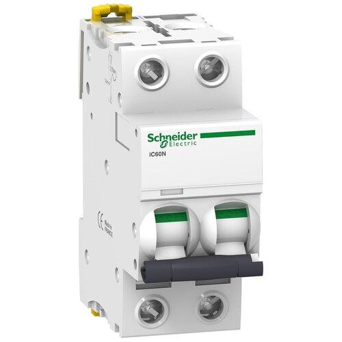 Фото - Автоматический выключатель Schneider Electric Acti 9 iC60N 2P (C) 6кА 50 А автоматический выключатель schneider electric acti 9 ic60n 3p c 6ка 50 а