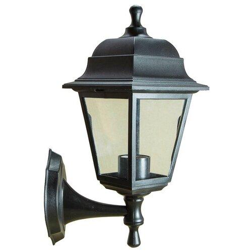 Фото - Уличный настенный светильник ЭРА Леда черный НБУ 04-60-001 Б0048111 светильник эра уличный настенный нбу 01 60 255 б0048083