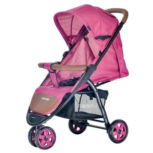 Прогулочная коляска everflo E-450 Racing, pink everflo каталка everflo машинка smart car m001 pink