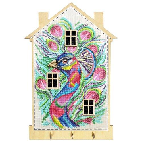 Набор для создания ключницы Яркая птица 19 x 28 см МАРЬЯ ИСКУСНИЦА 22.002.05