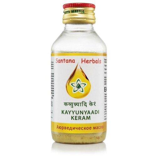 Купить Масло аюрведическое КАЙЮНЙААДИ КЕРАМ, 100 мл, Santana Herbals