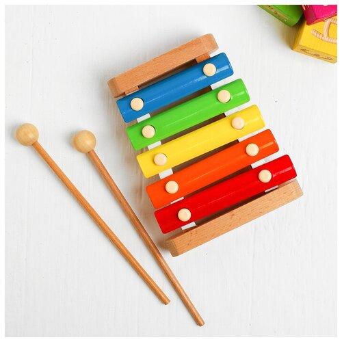 сборная модель мир деревянных игрушек ракетная установка п052 Мир деревянных игрушек Ксилофон «Мини»