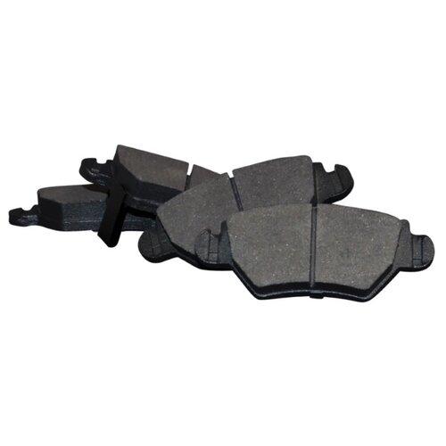 Дисковые тормозные колодки задние JP Group 1263700210 для Opel Astra, Opel Zafira (4 шт.) дисковые тормозные колодки задние bosch 0986424646 для opel astra opel zafira 4 шт
