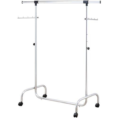 Напольная вешалка для одежды UniStor RINO передвижная напольная стойка для одежды на колёсиках