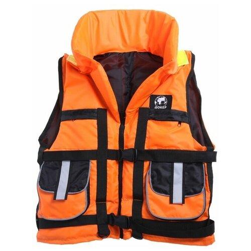 Жилет спасательный с подголовником «Докер», 80 кг
