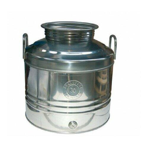 Бидон 30 л. фляга из нержавейки, емкость для брожения и хранения
