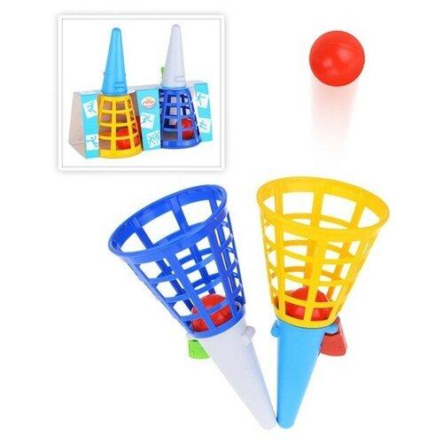 Купить Форма Игра «Поймай шар», микс, Спортивные игры и игрушки