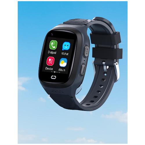Детские умные смарт-часы Smart Baby Watch LT31E 4G с поддержкой Wi-Fi и GPS, HD камера, SIM card (Черный) детские умные часы телефон с gps smart baby watch df25 голубые