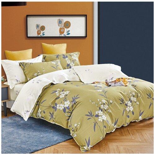 Комплект постельного белья Jardin 3220/21022 евро 50*70, сатин элит