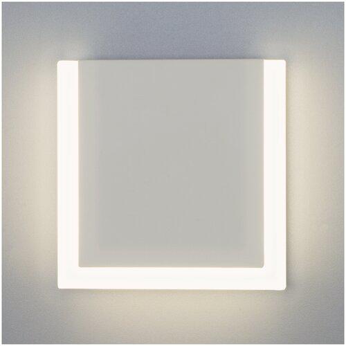 Фото - Настенный светильник Eurosvet 40146/1 LED белый 10W светильник eurosvet 90095 10 белый begonia