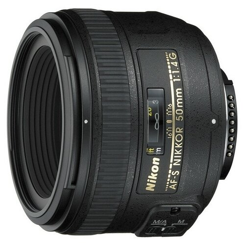 Фотообъектив Nikon 50mm F1.4G AF-S NIKKOR