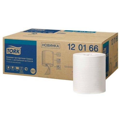 Купить Бумага протирочная Tork M2 1 сл. ЦВ 6рул/кор, базовая, белая 120166