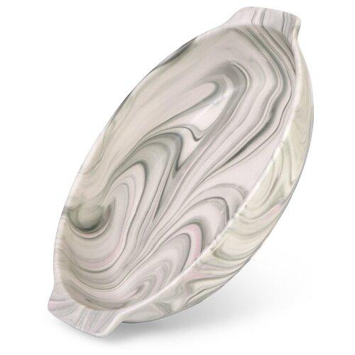 Форма Fissman для запекания 26x17х6 см / 1,2 л VALENCIA Овальная (керамика) (6183)