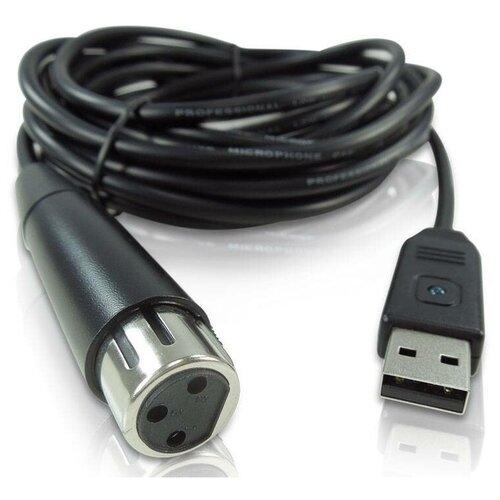 Фото - Behringer MIC 2 USB звуковой USB-интерфейс в виде кабеля 5 м для микрофон behringer c 2