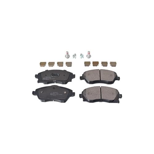 NIBK pn0361 (1605081 / 1605092 / 1605964) колодки тормозные дисковые Opel (Опель) Corsa (Корса) 1.2 2005 - Opel (Опель) Corsa (Корса) 1.2 2004 - 2009 Opel (Опель) Corsa (Корса) 1.4 2003 -