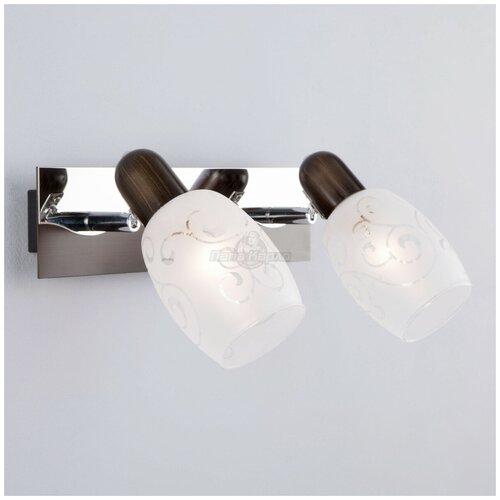 Eurosvet Светильник споты 60301/2 хром/венге