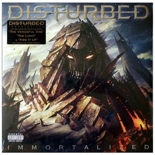 disturbed disturbed live at red rocks 2 lp Disturbed – Immortalized (2 LP)