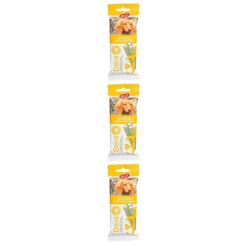 Лакомство для средних собак Titbit Dent, жевательный снек со вкусом кролика, 50 гр, 3 шт недорого