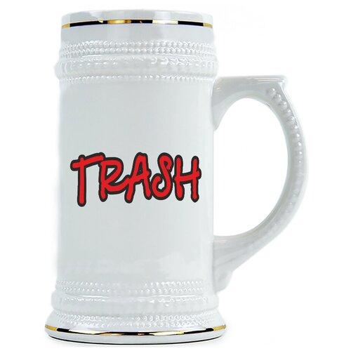 Пивная кружка TRASH , Трэш
