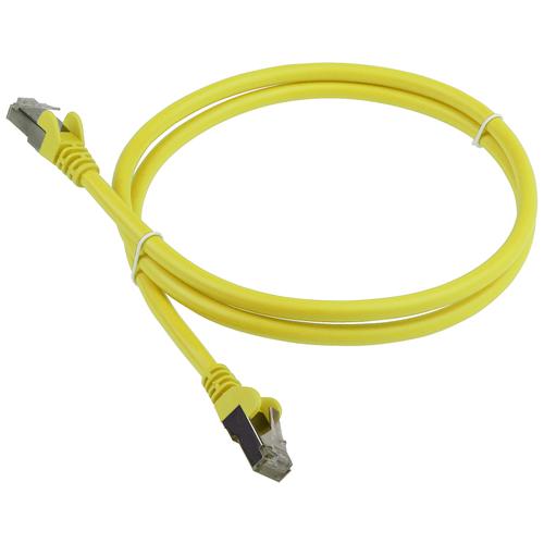 Патч-корд Lanmaster LAN-PC45 RJ-45 (m) - RJ-45 (m) CAT6 F/UTP, 1 шт., желтый, 2 м