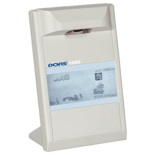 Детектор банкнот DORS 1000 M3 инфракрасный, серый.