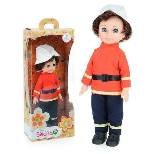 Кукла детская Весна Пожарный, 30 см