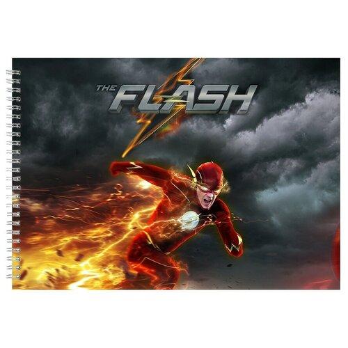 Альбом для рисования, скетчбук THE FLASH