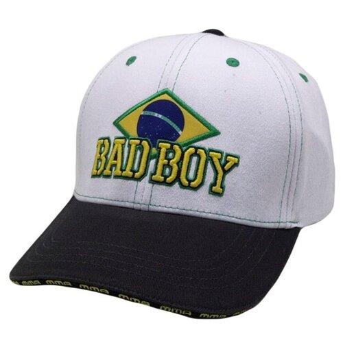 Бейсболка/Кепка Bad Boy Brazilian - White/Black недорого