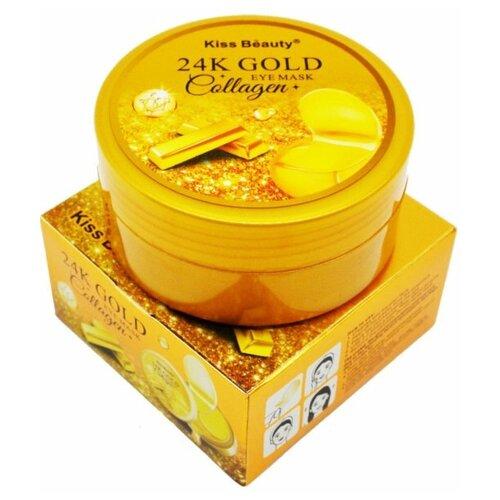 Фото - Патчи для глаз гидрогелевые с коллоидным золотом / 60 шт / подарки на 8 марта гидрогелевые патчи для глаз christian breton paris 8 марта женщинам