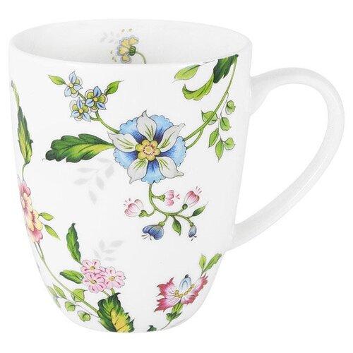 Кружка Provence 400 мл костяной фарфор, Anna Lafarg Emily, AL-205P-E11 чайник anna lafarg emily арктика в подарочной упаковке костяной фарфор 1 2 л al 101a e11