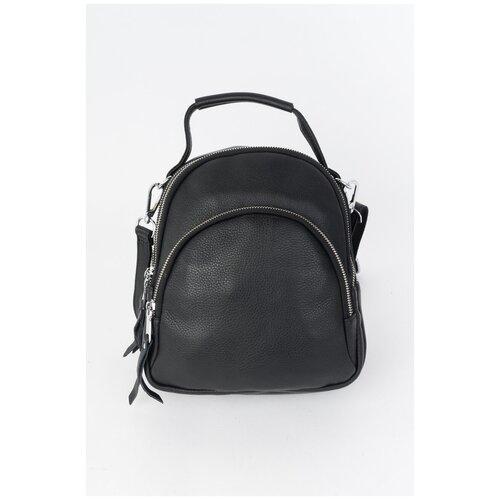 Кожаный рюкзак 1322-108BLACK Черный