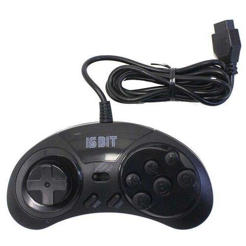 Джойстики для Sega Turbo черный (набор 2 штуки)