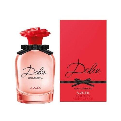 Туалетная вода DOLCE & GABBANA Dolce Rose женская 75 мл туалетная вода dolce