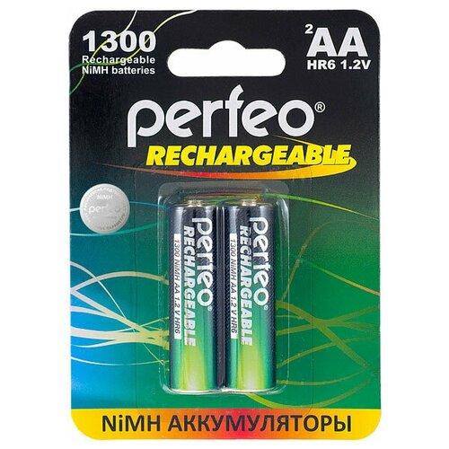Фото - Аккумулятор Perfeo AA1300mAh/2шт аккумулятор perfeo aa2500mah 2шт