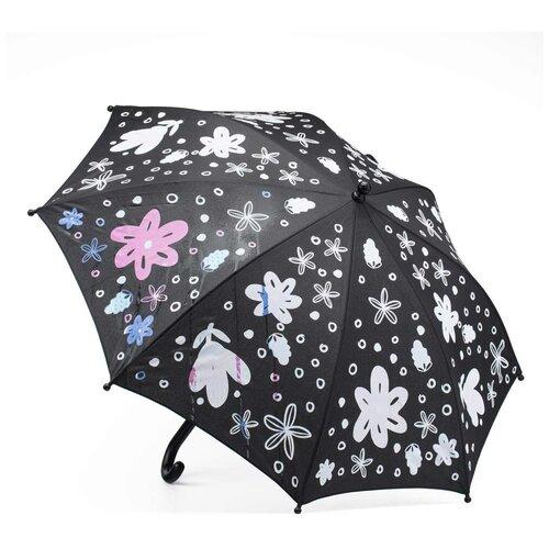 Зонты для девочек котофей 03807079-40 размер детский цвет бордовый