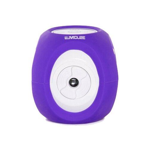 Портативный мини-проектор LUMICUBE, фиолетовый