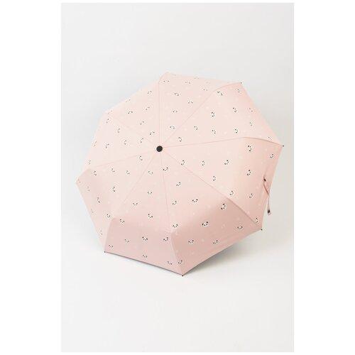 Зонт с пандами KW041-000037 Розовый