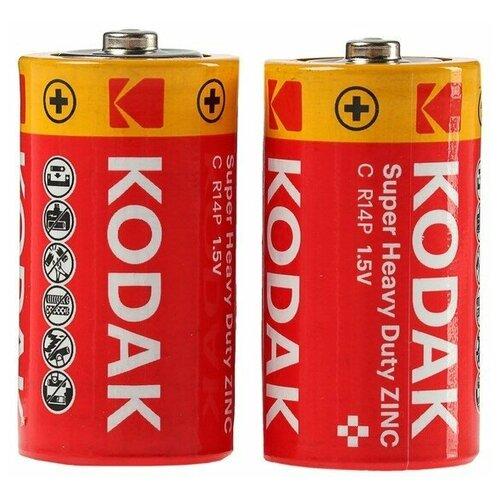Фото - Элемент питания KODAK Heavy Duty R14 Extra (KCHZ-S2) (б/б) (24/144) батарейка kodak r20 extra heavy duty kdhz 24 144 6912